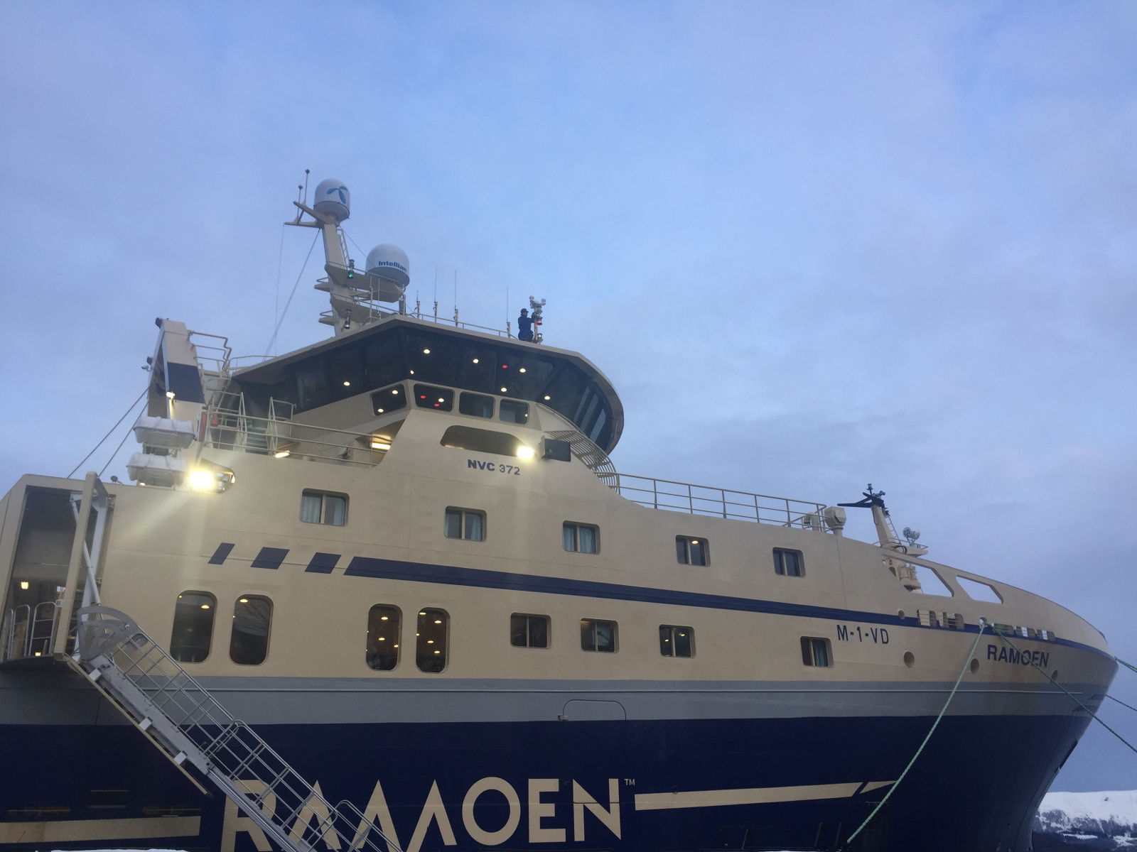 Ramoen ready for the first trip in 2018